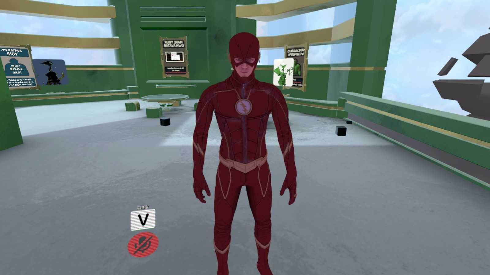 VRCMods - The Flash - CW show (Animations, Particles, Emotes, Sound