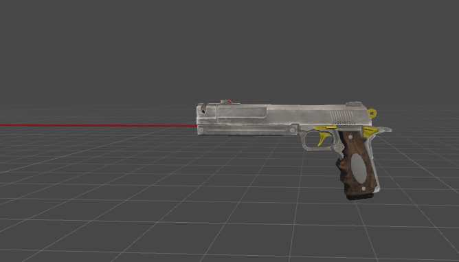 VRCMods - Ivory customized M1911 (Particles, Bullets, Sounds