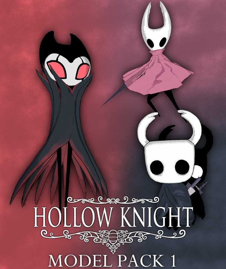 VRCMods - HollowKnight Pack 1 [The Knight,Shade,Hornet,Grimm
