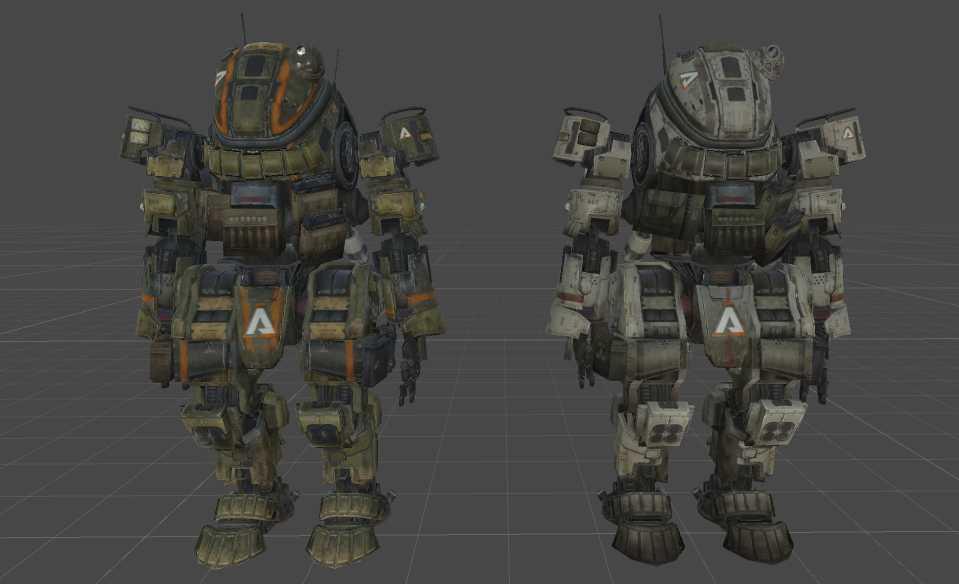 VRCMods - Titanfall Ogre Titan - VRChat Avatars