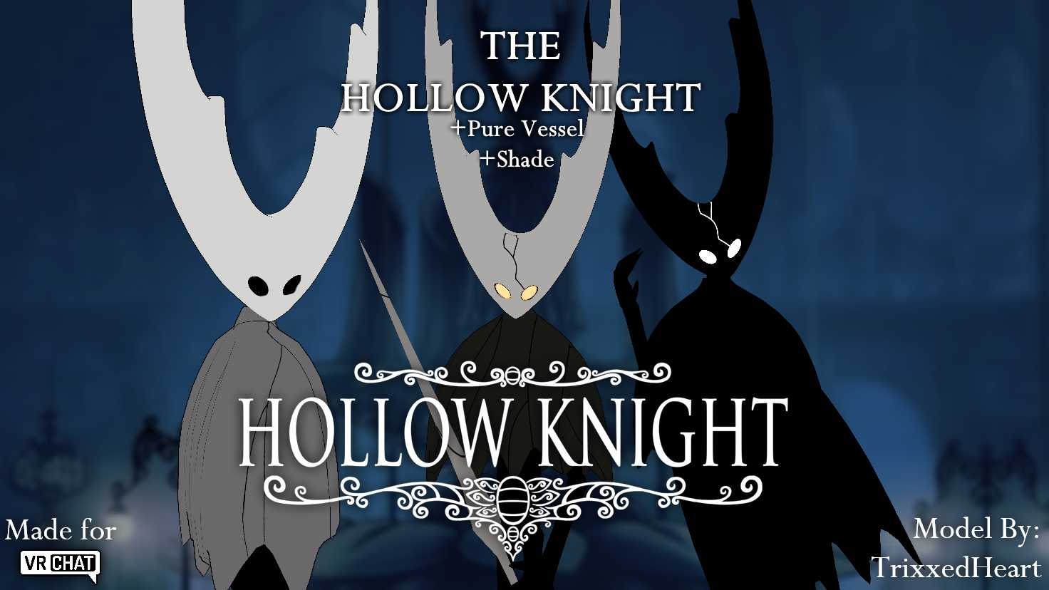 VRCMods - The Hollow Knight[Fixed Purple Textures] - VRChat Avatars
