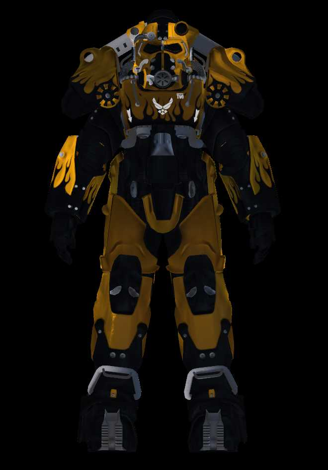 VRCMods - (Fallout 4) T-60 Power Armor - VRChat Avatars