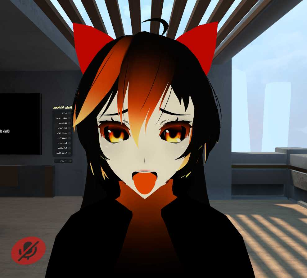 VRCMods - Black Hole Chan (Full Body, 5 Gestures, including black