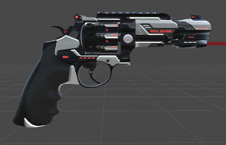 VRCMods -  357 Magnum MP R8 Reboot (Particles, Bullets, Sounds
