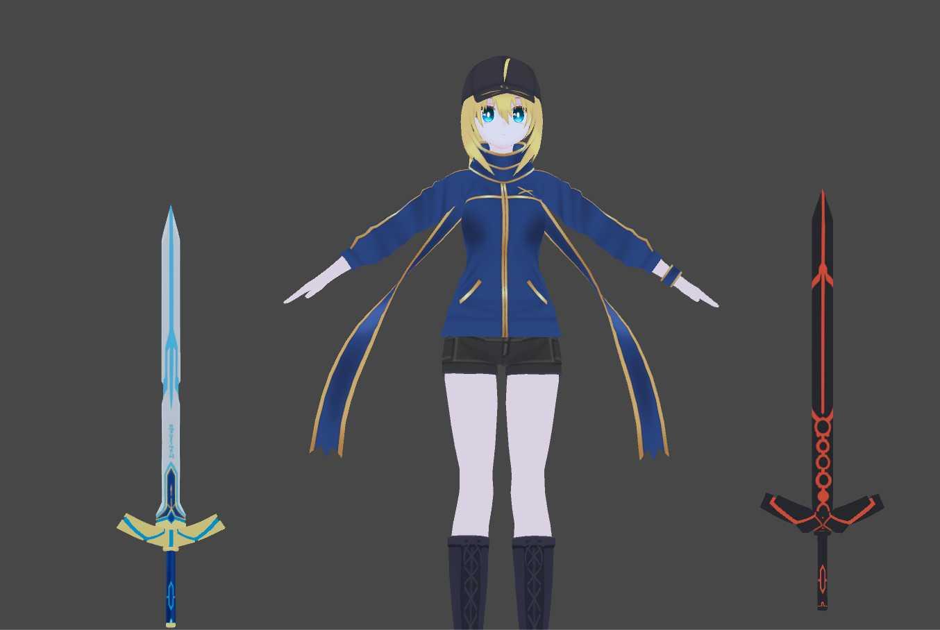 VRCMods - Casual Ooka Miko [Avatar World ready] - VRChat Avatars