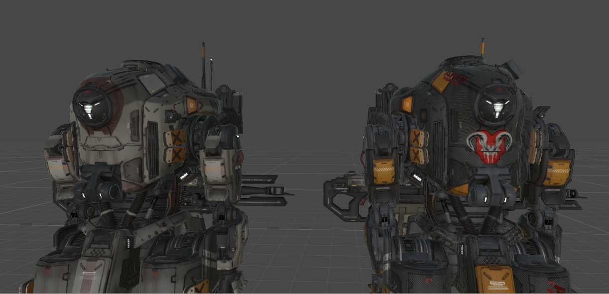 VRCMods - Titanfall 2 Tone - VRChat Avatars