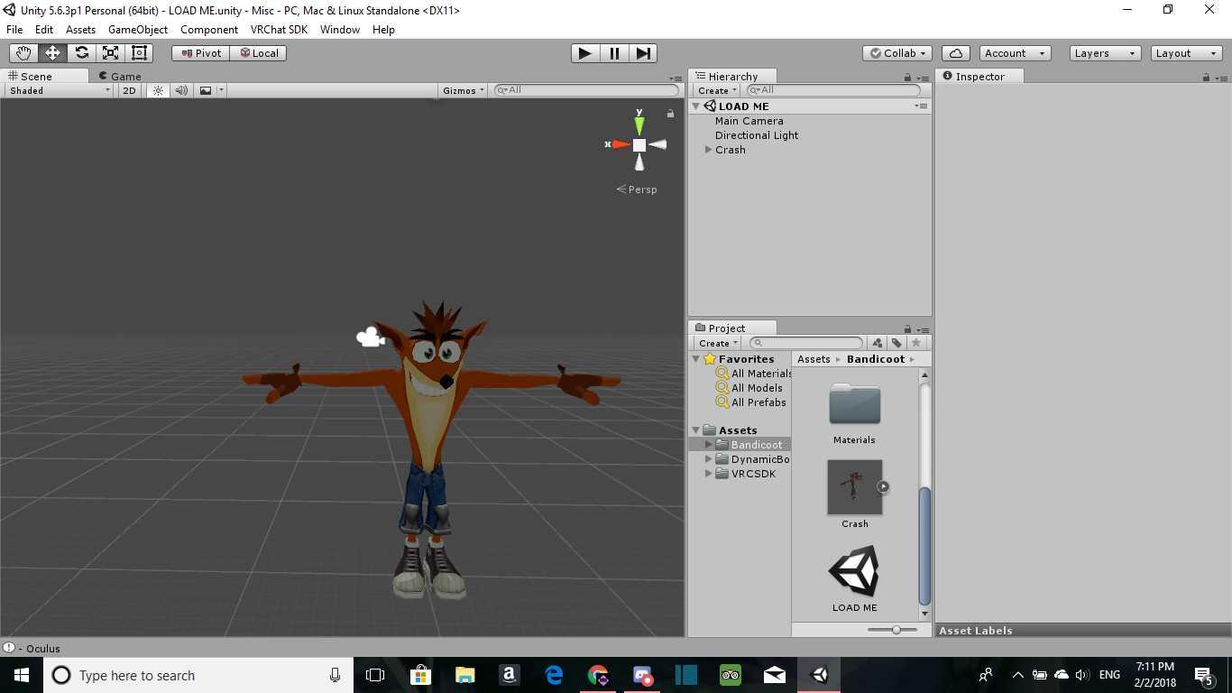 VRCMods - Crash Bandicoot (Cubed's Shaders) - VRChat Avatars
