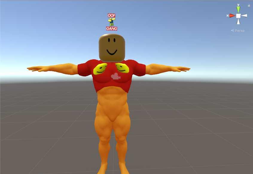 VRCMods - Christian Roblox Winnie Pooh - VRChat Avatars