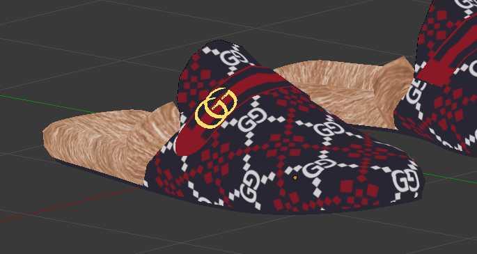 Gucci Princetown GG diamond slippers