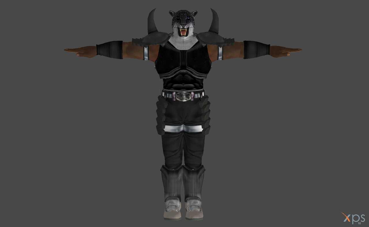 VRCMods - Armor King From Tekken 6 (17k Poly) (Excellent