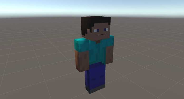 VRCMods - Steve with simple Rig system - VRChat Avatars