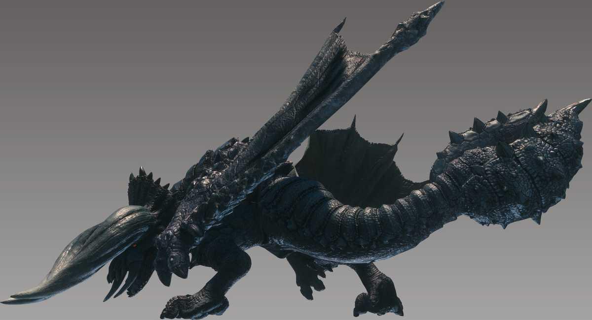 VRCMods - Black Diablos (Monster Hunter World) - VRChat Avatars