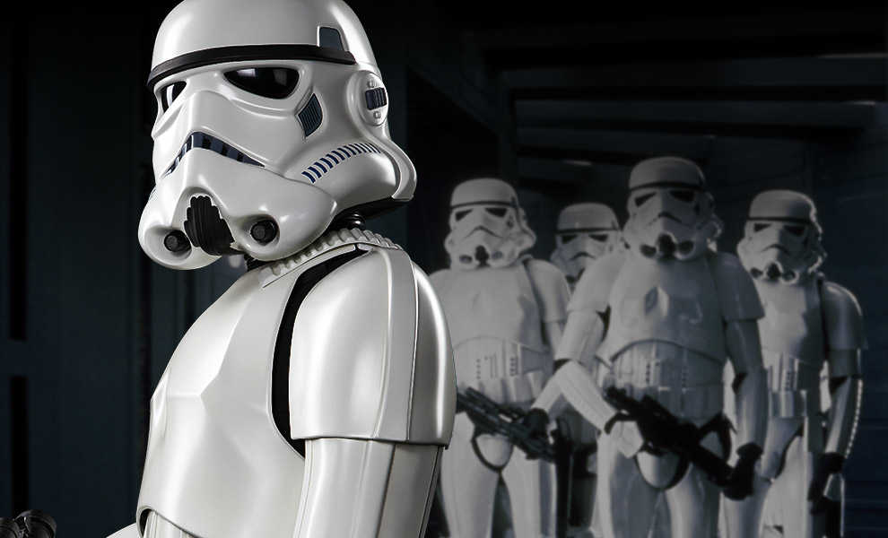d96a0b53e5 Stormtrooper from Star Wars. EDIT  Just fixed the placement of the eyes.