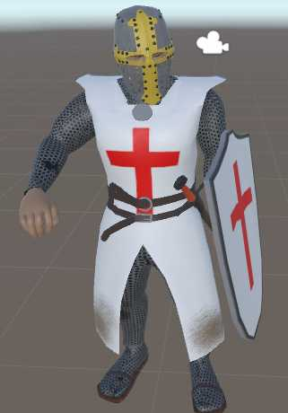 VRCMods - Deus Vult/The Black knight - VRChat Avatars