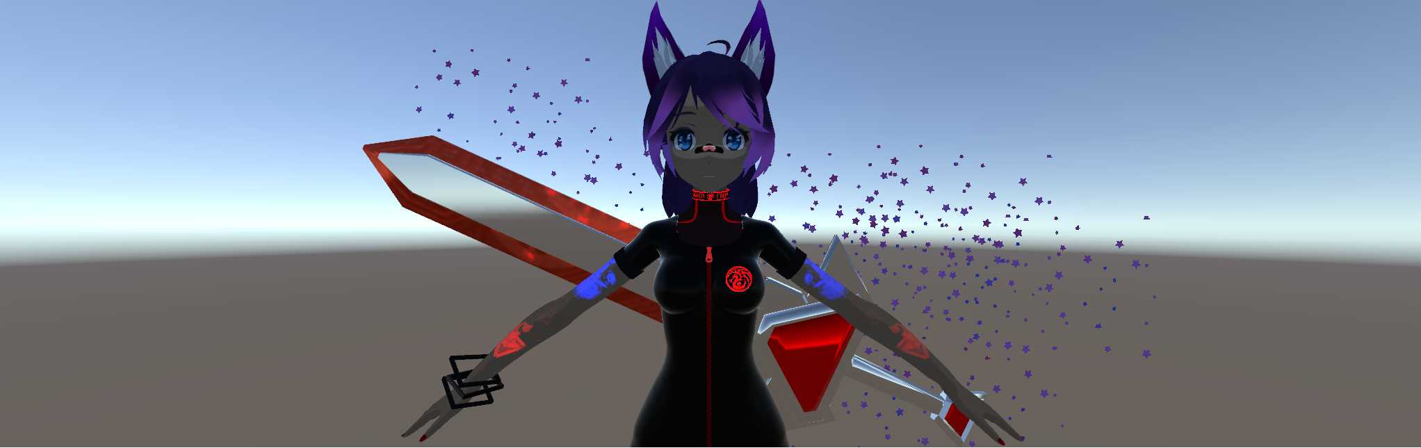 VRCMods - KittyKat Quits -Full body -easy upload (update 1 2