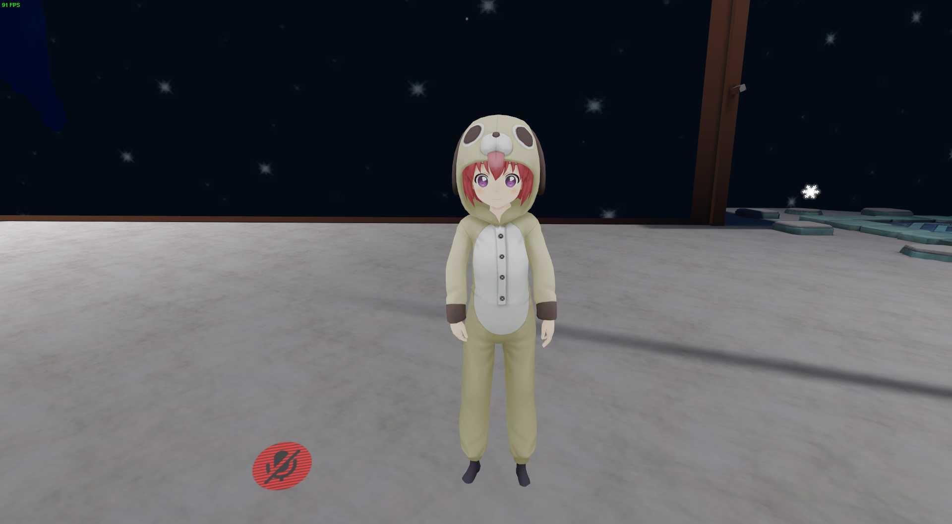 VRCMods - YuruYuri Dog Girl - VRChat Avatars