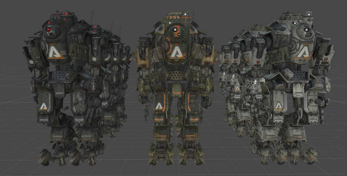 VRCMods - Titanfall Atlas Titan - VRChat Avatars