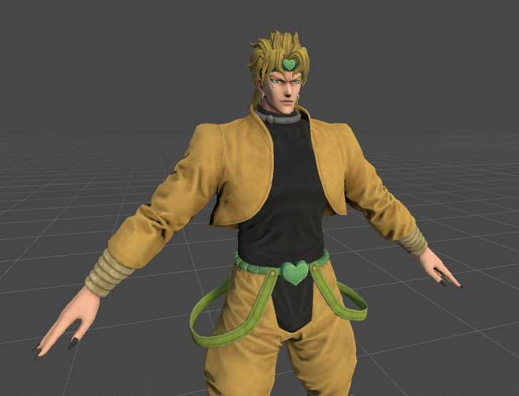 VRCMods - [LEG FIXED UPDATE] Jump Force - DIO 58K poly