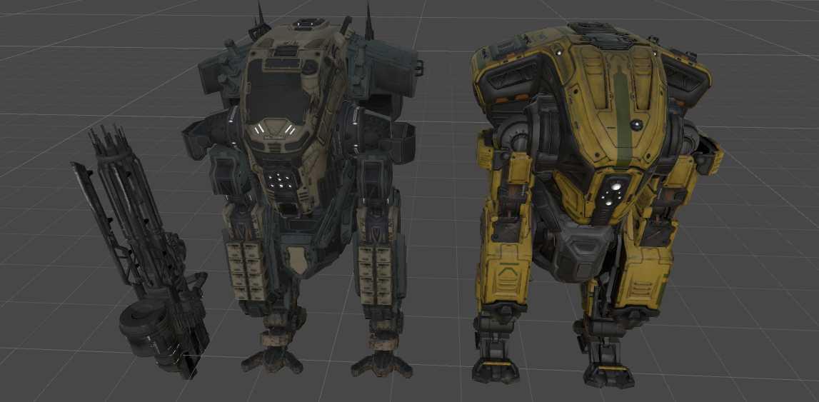 VRCMods - Titanfall 2 Legion - VRChat Avatars