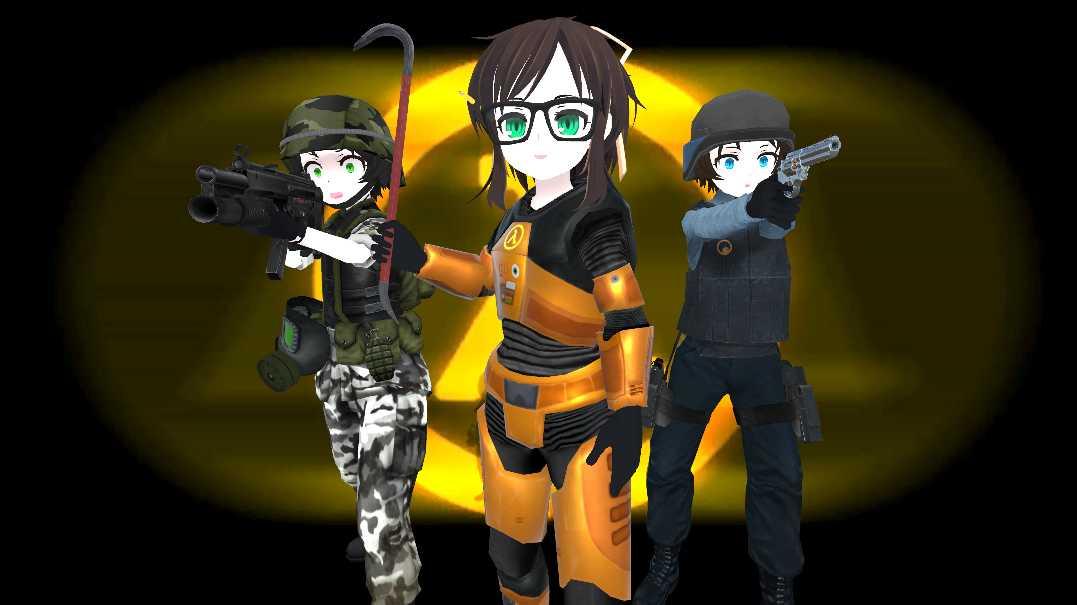 VRCMods - Half-Life Mikos - VRChat Avatars