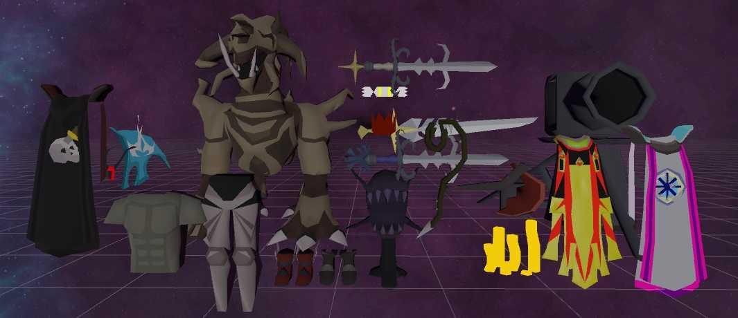 Old School Runescape Armor